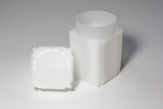 Square Coin Tubes