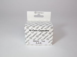 American Gold Eagle Coin Capsules