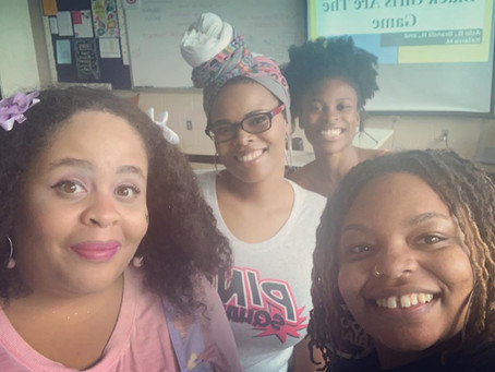 Brown Girl Gamer Code at MECCA CON: Black Girls are the Game Round table!