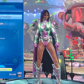 Afros N Superpowers: DC Universe Online