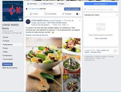 Facebook Corse Marée