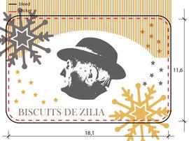 Packaging Biscuits de Zilia