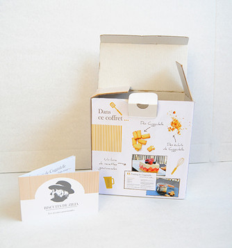 Packaging Biscuits de Zilia