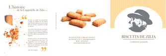Plaquette Biscuits de Zilia