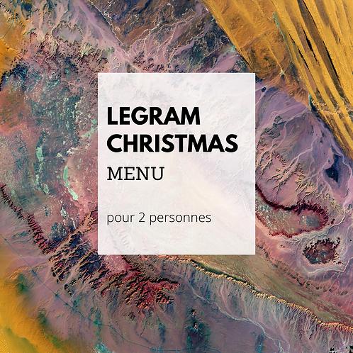 Spécial Xmas menu végétarien