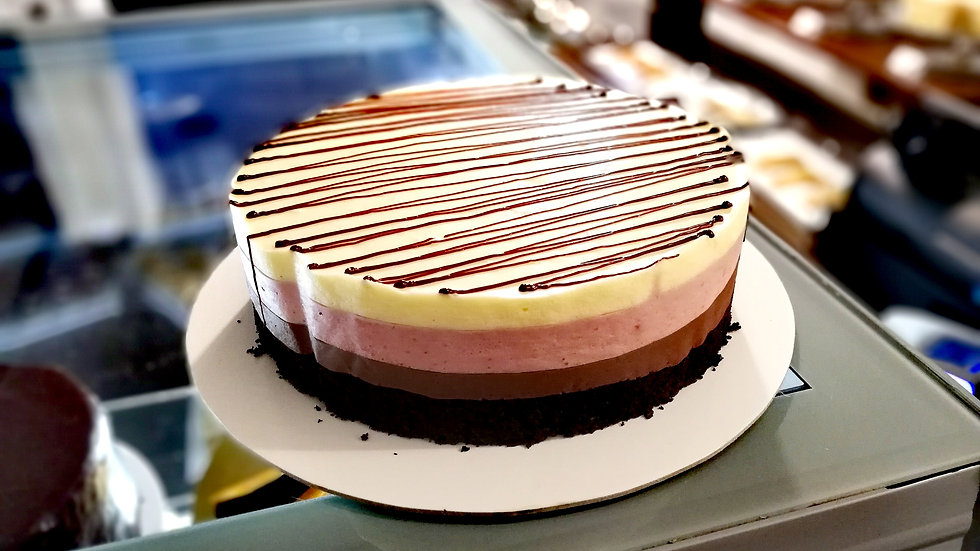 3 Layer Mousse Cake