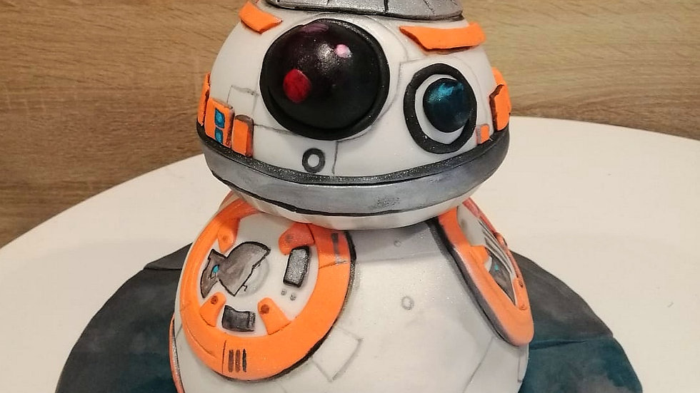 Star Wars Droid Variants Cake