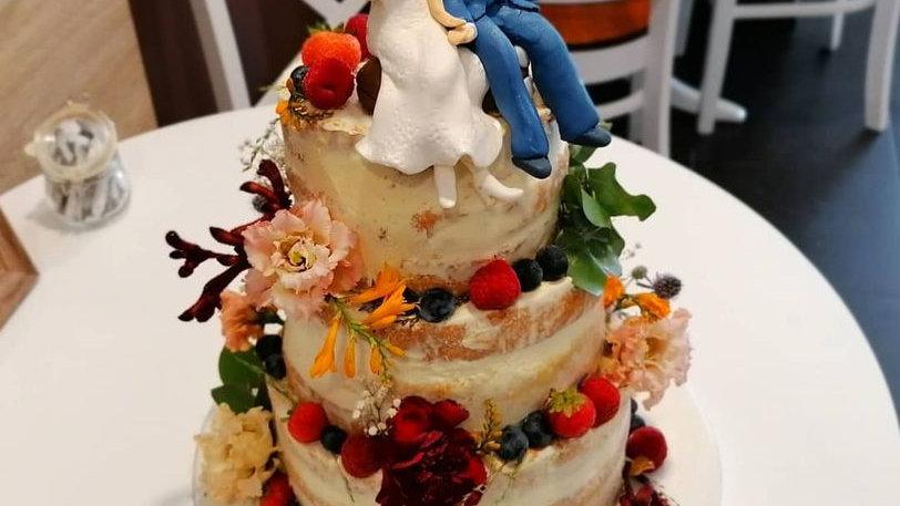 Wedding Art Cake