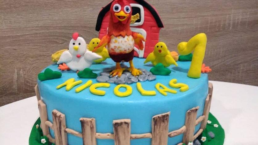 Farm Art Cake