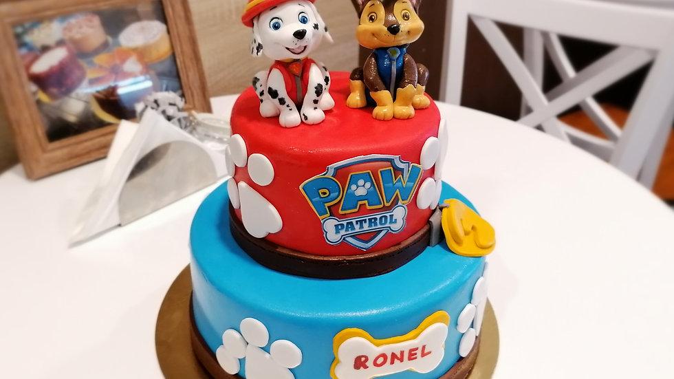 Paw Patrol Art Cake
