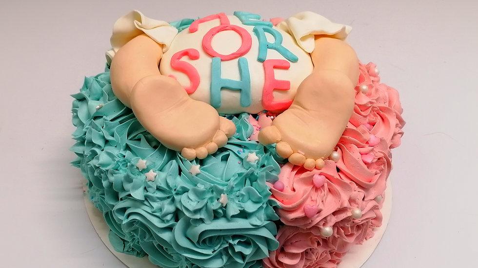 Baby Shower Surprise Cake