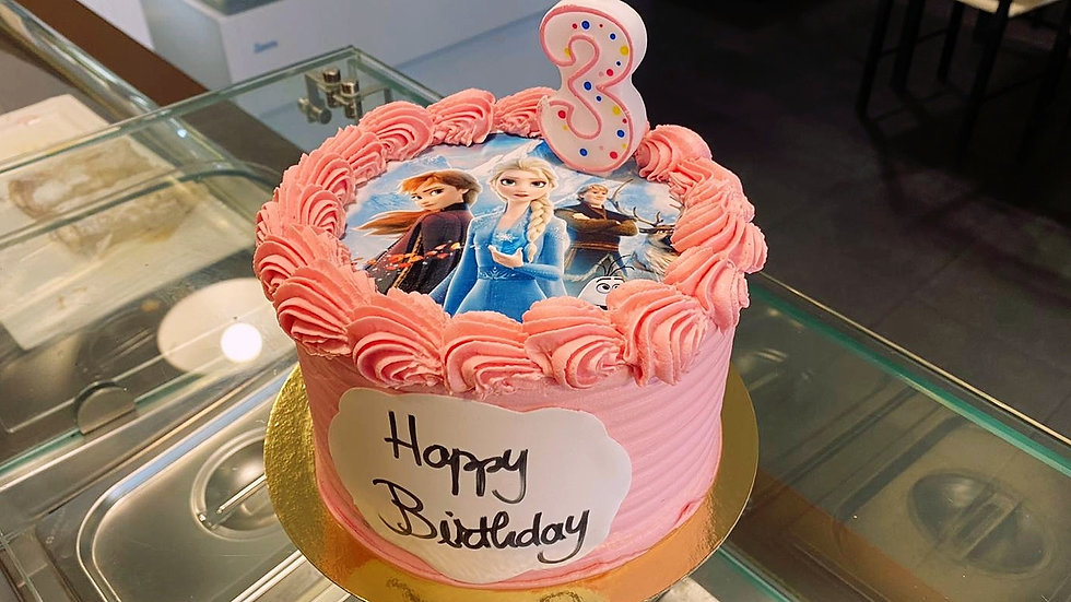 Edible Image Traditional Cakes