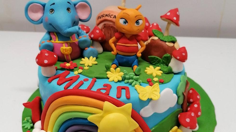 Cici Elephant Cake