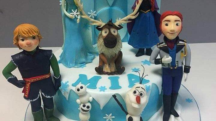 Frozen Art Cake