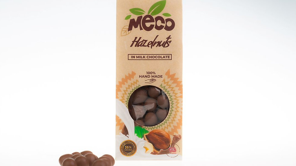 Hazelnuts in Milk Chocolate