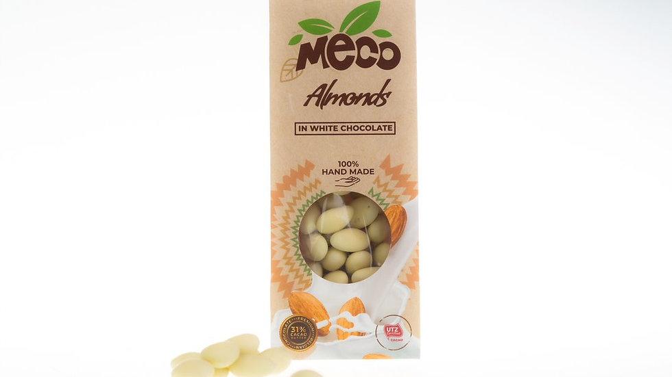 Almonds in White Chocolate