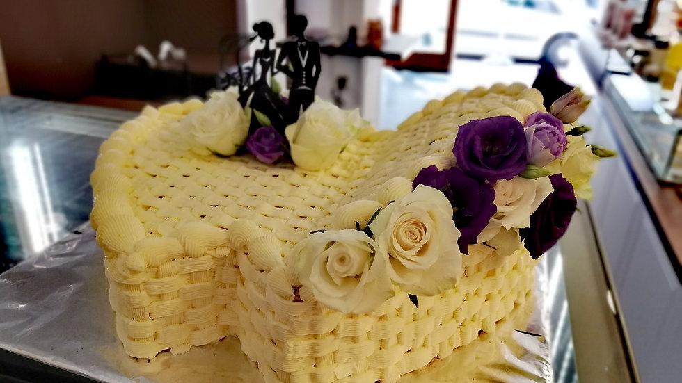 2 Hearts Cake