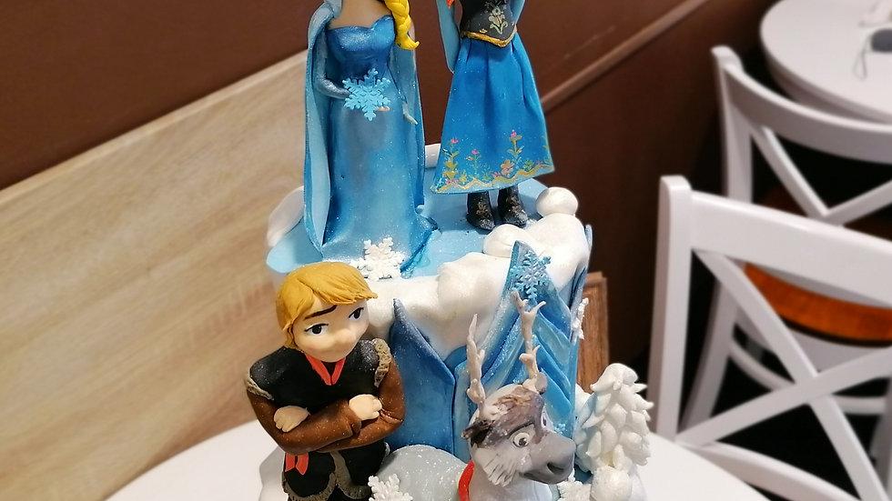 Frozen Art Cake 2