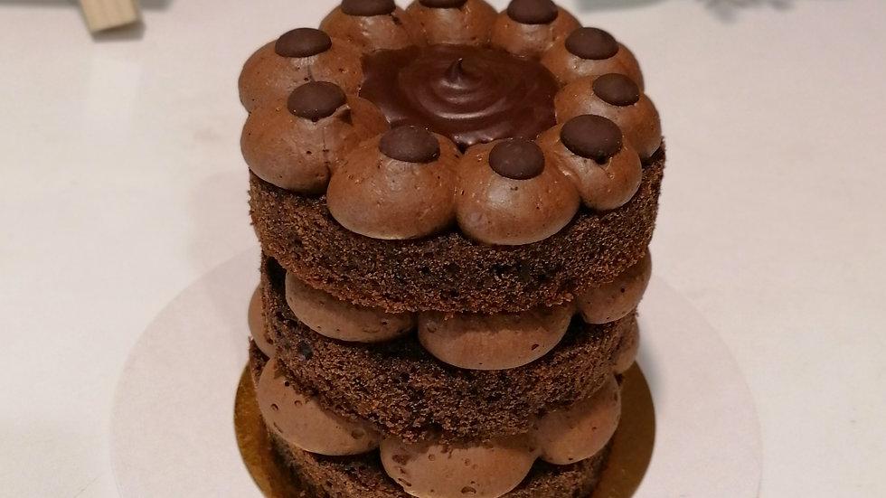 Vegan Chocolate Mini Cake
