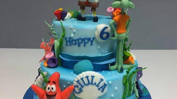 Sponge Bob Art Cake