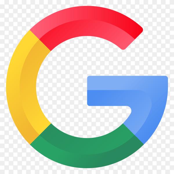 Illustration-of-Google-icon-on-transpare