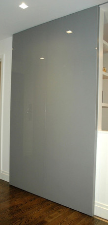 Glass Barn Door