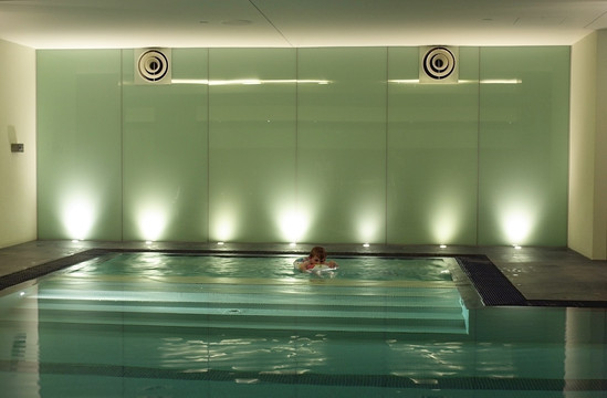 Hotel Pool Walls