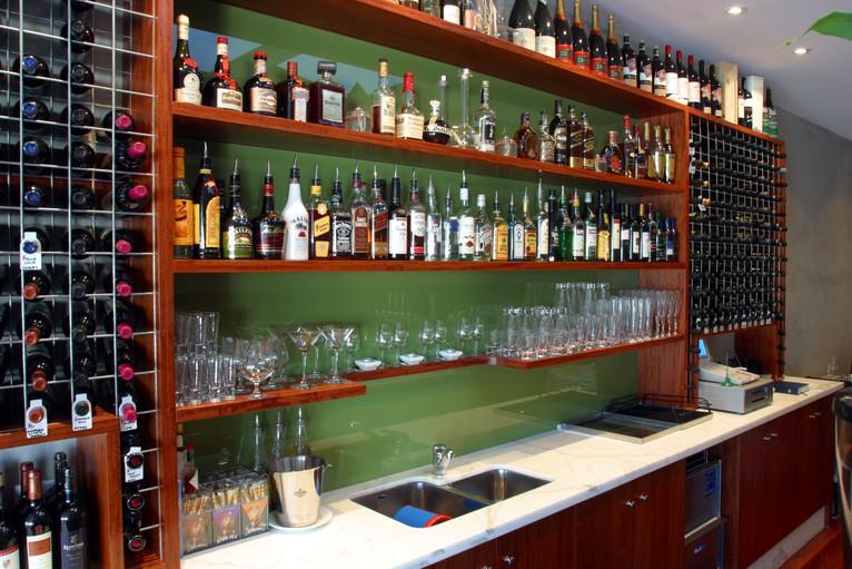 Bar Backdrop