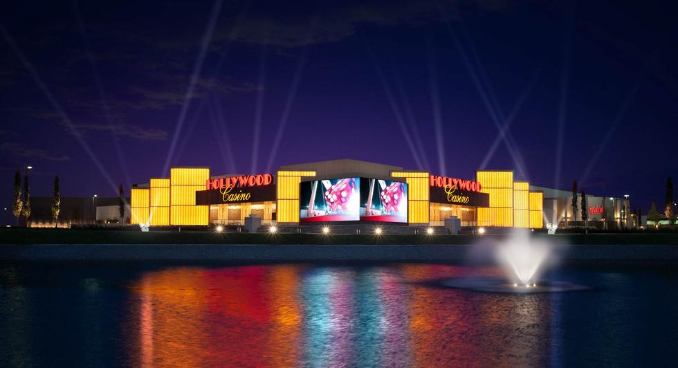 Backlit Casino