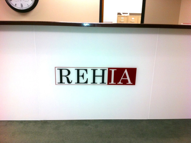 Logo at Reception