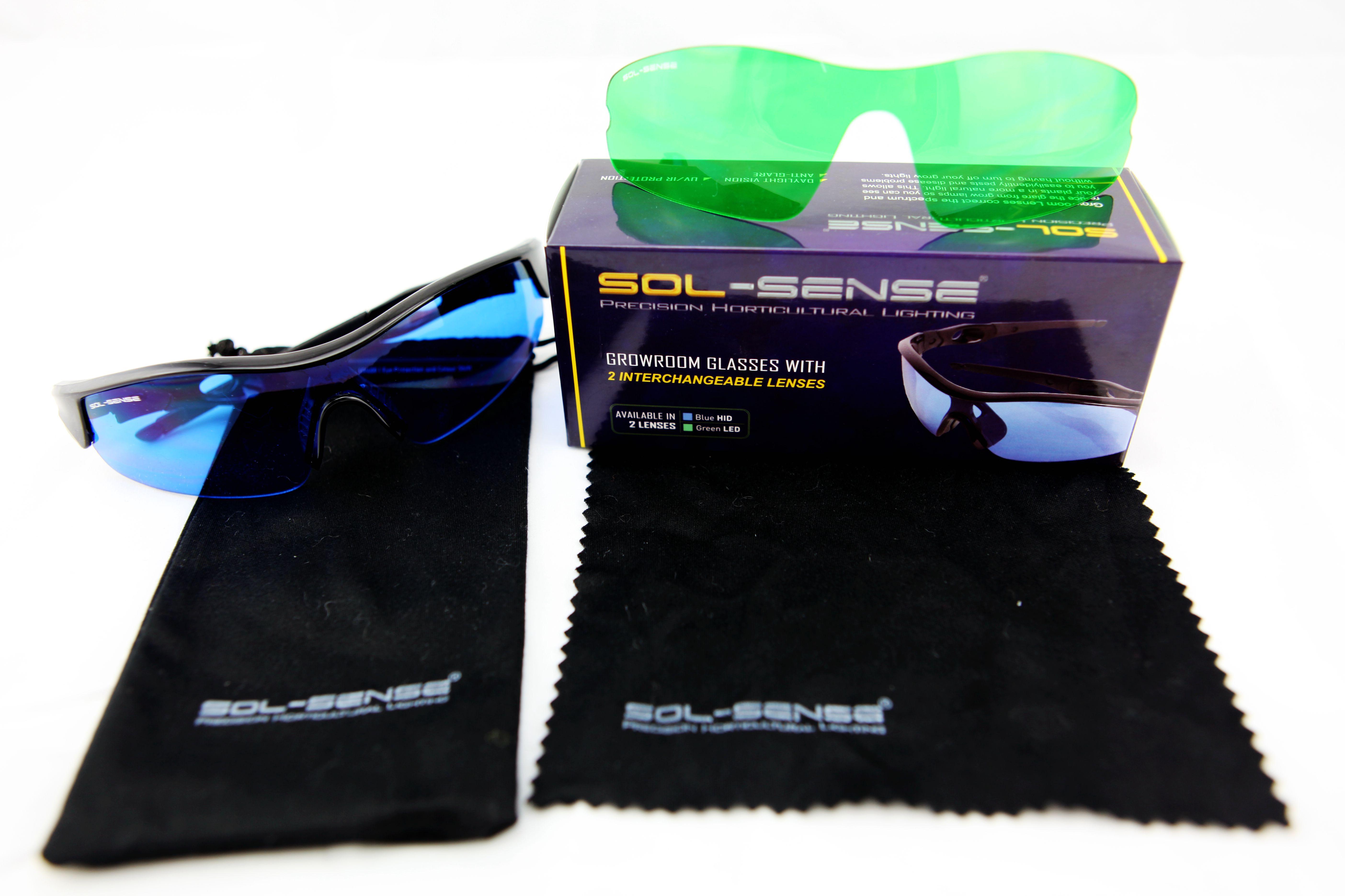 Sol-Sense Dual Lens Growroom Glasses