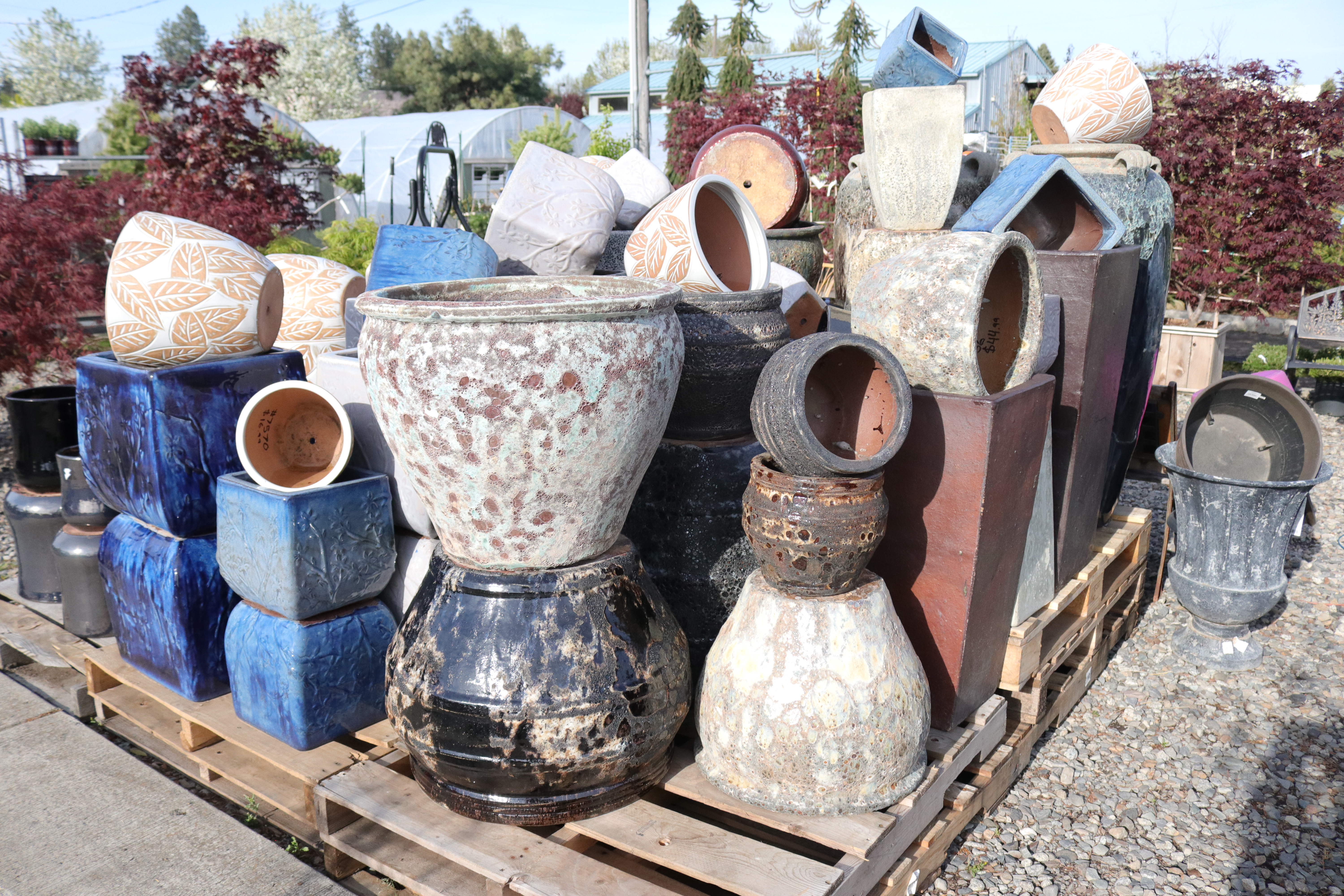 Textured Pottery