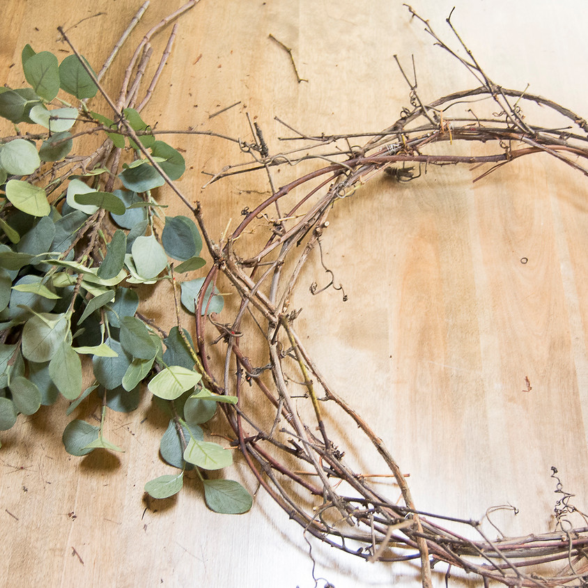 Grape Vine Wreath Class