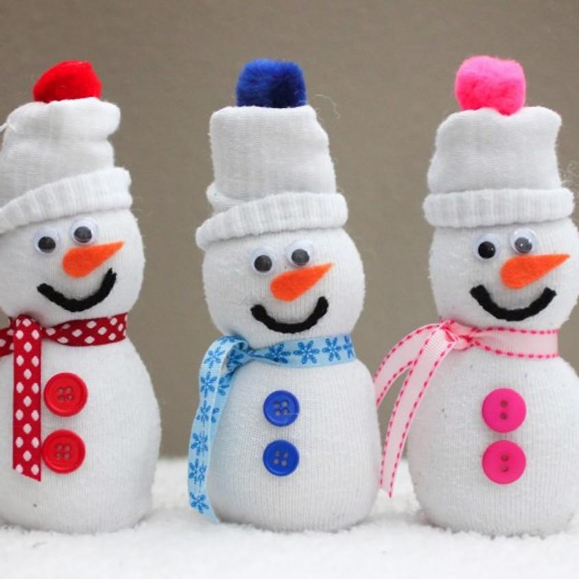 Kids Craft Day- Sock Snowman