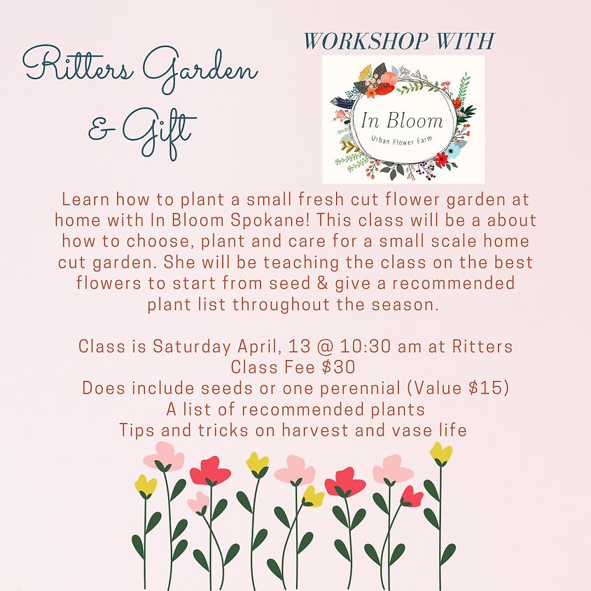Fresh Cut Flower Garden with In Bloom