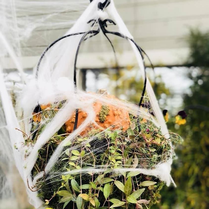 Fall/Halloween Peanut Basket