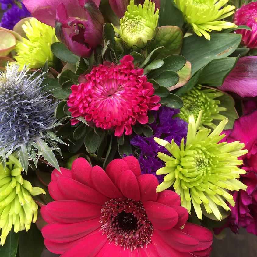 Kids Club Funshop- Mason Jar Floral Arrangement