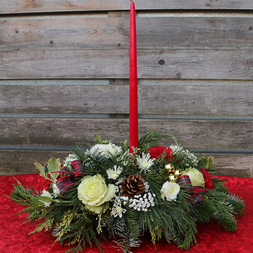 D.I.Y. Holiday Centerpiece Class Date
