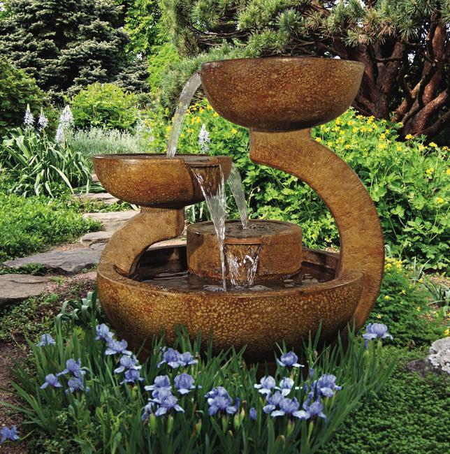 3 level fountain