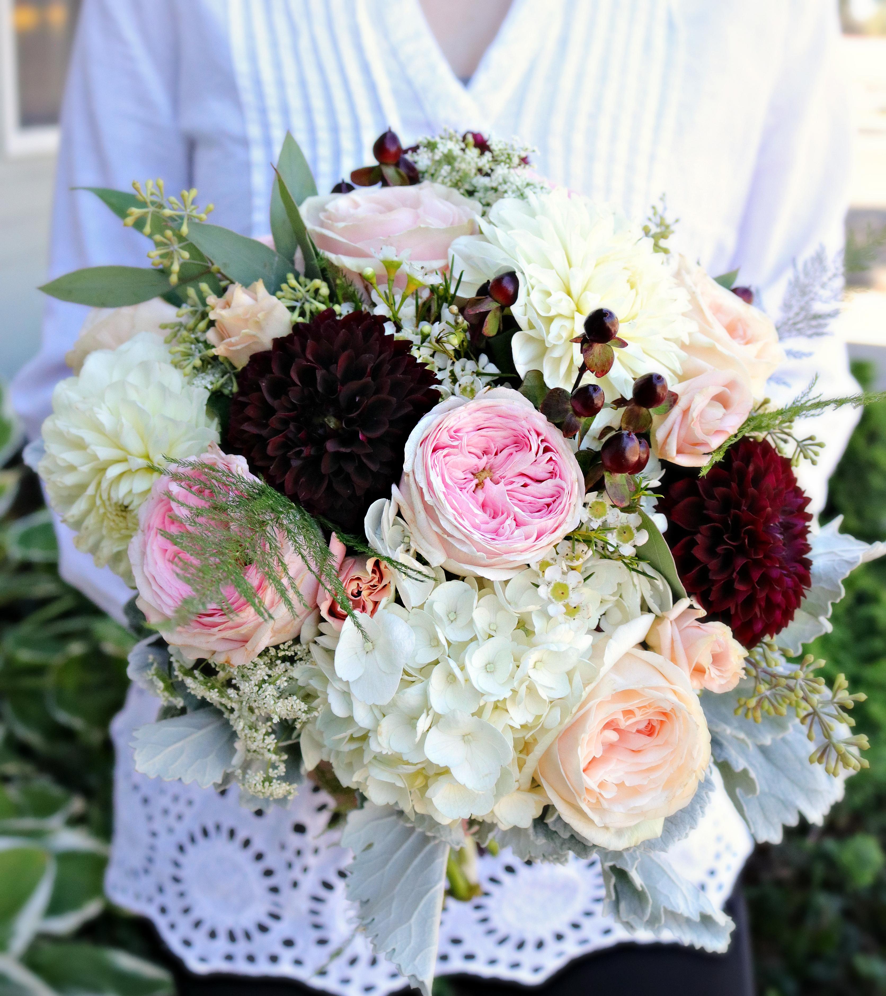 Summer Hand-Tied Bridal Bouquet