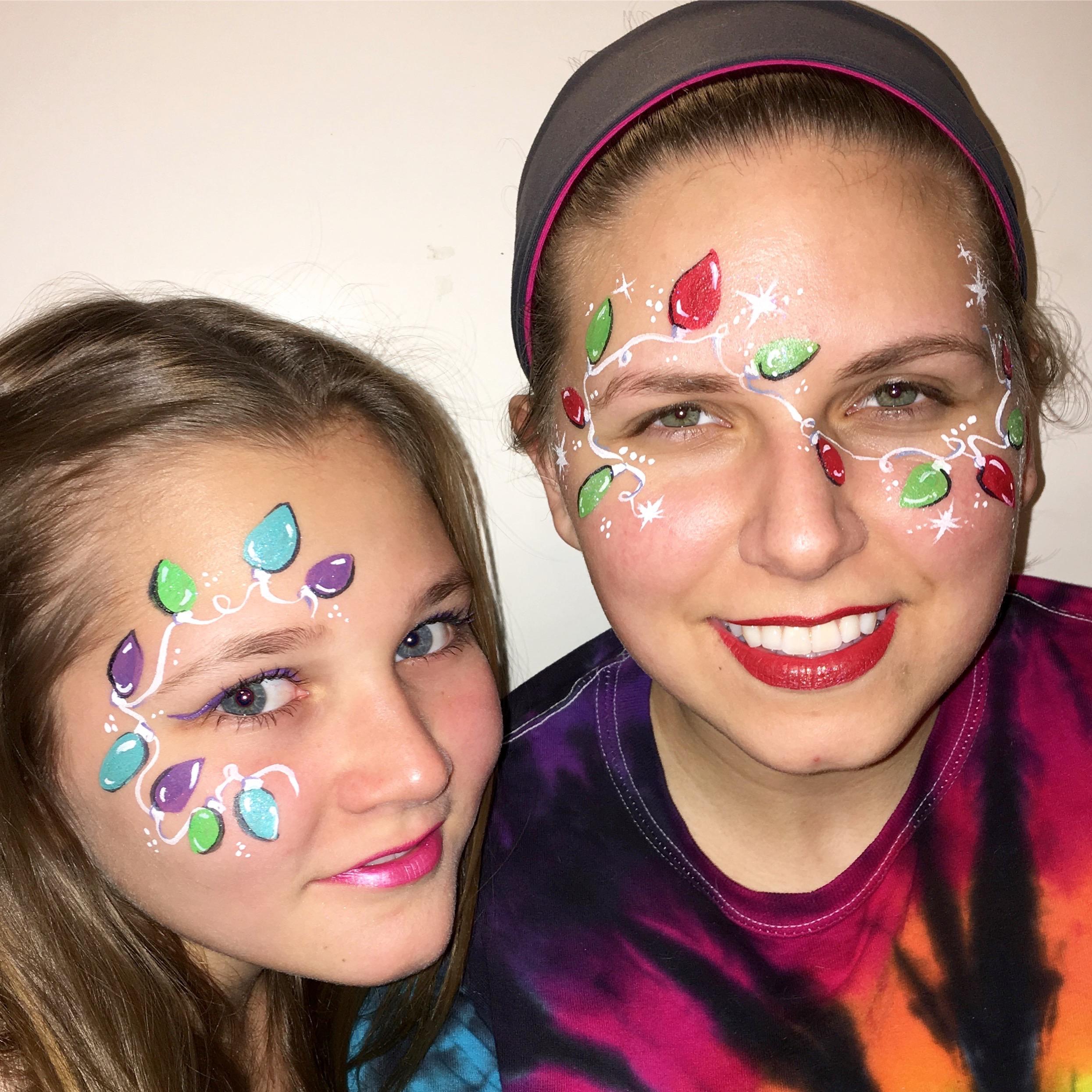 Holiday Face Art