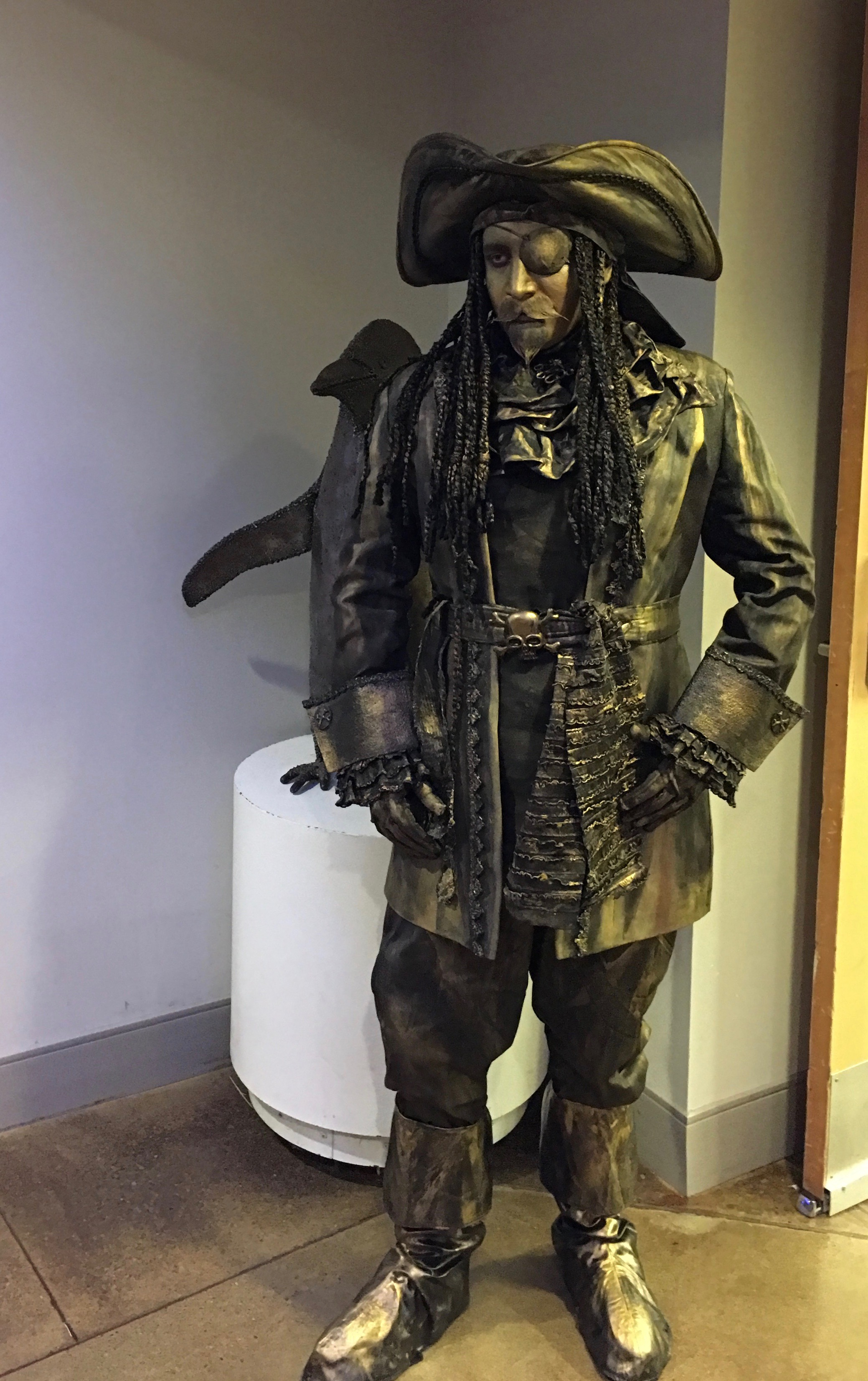 Pirate Living Statue