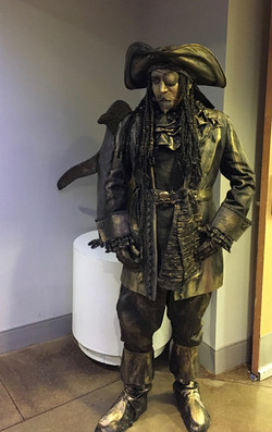 Pirate Living Statue