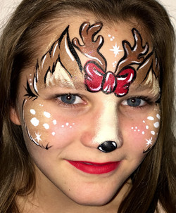 Holiday Face Art