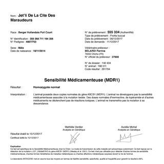 Drug Resistance MDR-1