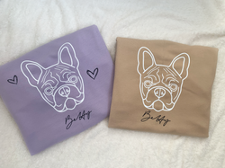 Betty French Bulldog Sweatshirts