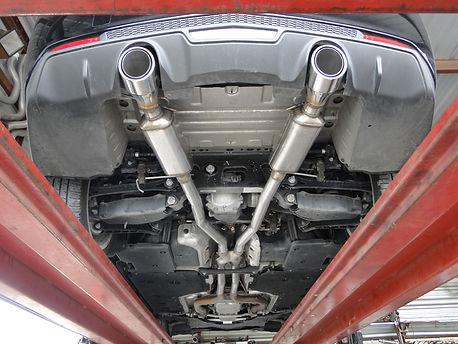 custom exhaust install repair tucson