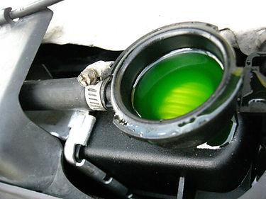 Radiator fluid flush