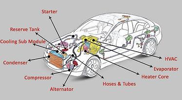 Exhaust system diagram repair installation all work's automotive
