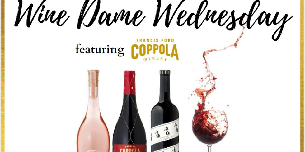 Wine Dames Wednesday: A Coppola Tasting